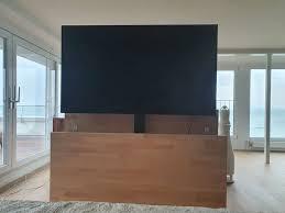 oled tv fernseher inkl tv möbel mit lift kaufen auf ricardo