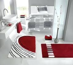 bright red bath rugs and white bathroom city gate beach road