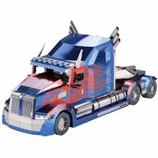 Aliexpress.com - MU 3D Metal Puzzle Optimus Prime Truck Model DIY ...