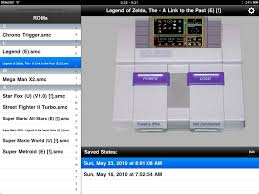 SNES HD Super Nintendo Emulator for Jailbroken iPad