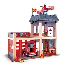 Fire Station | E3023 | Hape Toys Kamalife Red Ladder Truck 1 Pc Alloy Toy Car Simulation Large Blockworks Fire Truck Set Save 23 Buy 16 With Expandable Engine Bump Dickie Toys Action Brigade Vehicle Shop Your Way 9 Fantastic Trucks For Junior Firefighters And Flaming Fun 2019 Children Big Model Inertia Kids Wooden Fniture Table Chair Online In Tonka Mighty Motorized Walmartcom 1pcs Amazoncom Bruder Man Games Carville Fire Truck Carville At Toysrus
