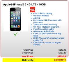 New iPhone 5 Pre orders Through Verizon Slip to September 26