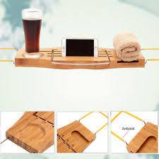 Bamboo Bath Caddy Uk by Bamboo Bathroom Organisers U0026 Caddies Ebay