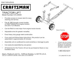 Craftsman 4 Ton Floor Jack 50156 by Search Manual User Manuals Manualsonline Com