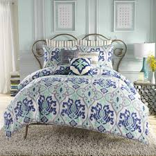 Twin Bed In A Bag Sets by Anthology Jolie Reversible Comforter Set In Blue