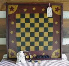 Primitive Old Game Boards Handcrafted Checker Parcheesi Tic Tac Toe Chinese Look Wonderful As A County Wall