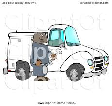 100 Truck Tools Clipart Of A Cartoon Black Male Worker Holding By A