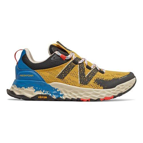 New Balance Men's Fresh Foam Hierro V5 Trail Running Shoes - Yellow/Blue/Black