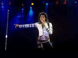 Michael Jackson At Wembley Stadium