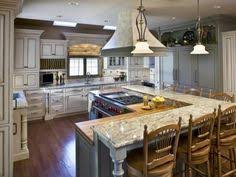 Kitchen Island With Granite Top And Breakfast Bar