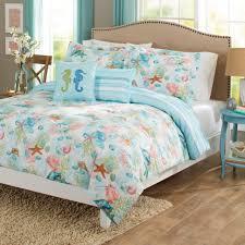 Coastal Bedding Sets by Mixinni Seashell Beach Bedding Set King Beach Theme Quilt Set With
