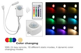 rgb led cabinet lighting kit 2w led puck lights torchstar