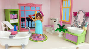 playmobil romantik bad 5307 für puppenhaus auspacken seratus1 dollhouse