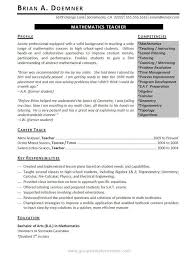Teacher Resume Examples Fast Teaching Objective Education Template Word Pe I68937