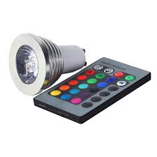 gu10 multi color led light bulb with remote gu10 rgb