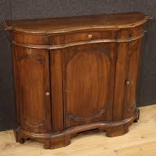anrichte möbel kommode aus walnuss holz antik stil wohnzimmer 900