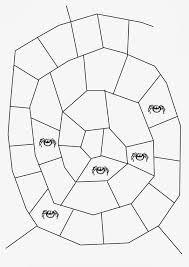 Spider Web Board Game Template
