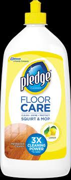 pledge floor care hardwood cleaner squirt mop pledge