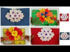 How To Make Simple Origami Greeting Card Making Birthday Handmade Gifts Ideas DIY Paper Crafts