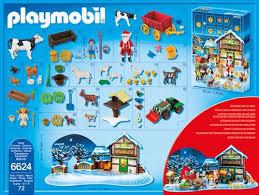 maison du pere noel playmobil playmobil calendrier de l avent 6624 père noël à la ferme