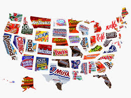Best Halloween Candy Ever by Popular Halloween Candy In Every State In 2017 Mapped Business