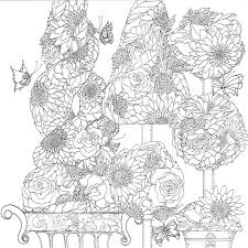 The Butterfly Garden A Coloring Book In Four Seasons Lynn Anne