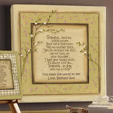 Personalized Grandma Hold Me Canvas Wall Decor