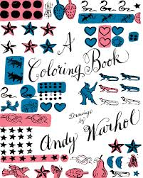 Drawings By Andy Warhol A Coloring Book UK Thames Hudson