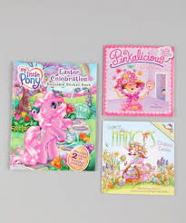 HarperCollins Fancy Nancy Pinkalicious My Little Pony Book Set