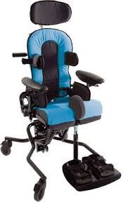 supine upright and prone stander for children and teens with