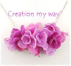 fleurs fantaisies en pâte polymère création my way