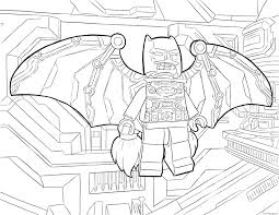 Lego Batman Fly Coloring Pages