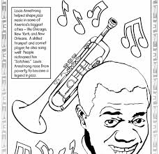 Great Famous African American Coloring Pages