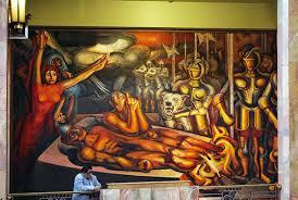 david alfaro siqueiros torment and apotheosis of cuauhtémoc