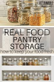 Pantry Storage Containers for a Real Food Kitchen