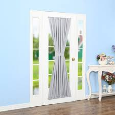 curtains french door curtains target blackout door panel rod
