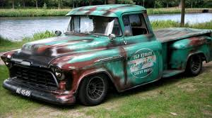 Faux-tina Paint Jobs - Page 7 - The 1947 - Present Chevrolet GMC ... Chevrolet Pro Touring Resto Mod Bagged Air Ride Custom 1956 Chevy What Your 51959 Truck Should Never Be Without Myrideismecom Panel For Sale Classiccarscom Cc1059681 56 Truckdomeus Cameo For Save Our Oceans Restored Original And Restorable Trucks 195697 Classic Pick Up Trucks Daytona Turkey Run Classic Event 3800 Dually 1 Ton Youtube