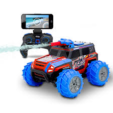100 Monster Trucks Rc The Live Streaming Squirting RC Truck Hammacher Schlemmer