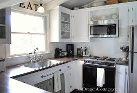 Diy Kitchen Remodel 80s Ranch To Farmhouse Fresh Home Decor Backsplash