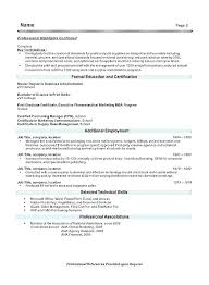 Examples Of A Resume Summary Statements Samples Sample