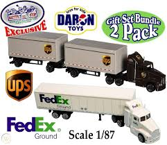 100 Ups Truck Toy UPS UNITED PARCEL DELIVERY TRUCK PULLBACK RT4349 SALE No