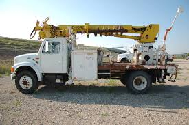 2000 International 4900 With TEREX Digger Derrick (MPF1094 ...