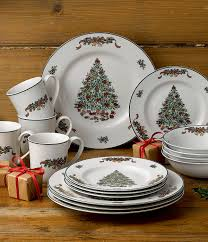 Spode Christmas Tree Peppermint Mugs Spoons by Johnson Brothers Victorian Christmas Dinnerware Set Christmas