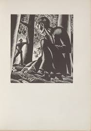 Untitled Illustration 16 In The Book Wild Pilgrimage By Lynd Kendall Ward New York Harrison Smith Robert Haas 1932