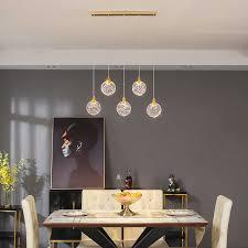 postmodernen luxus kristall anhänger le nordic lange kronleuchter innen beleuchtung wohnzimmer küche esszimmer hängen licht
