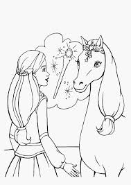37 Barbie Coloring Pages Cartoons Printable