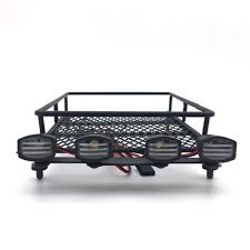 Roof Rack Luggage Carrier & Light Bar For 1/10 Monster Truck Short ... Diy Fj Cruiser Roof Rack Axe Shovel And Tool Mount Climbing Tent Camper Shell For Camper Shell Nissan Truck Racks Near Me Are Cap Roof Rack Except I Want 4 Sides Lights They Need To Sit Oval Steel Racks 19992016 F12f350 Fab Fours 60 Rr60 Bakkie Galvanized Lifetime Guarantee Thule Podium Kit3113 Base For Fiberglass By Trucks Lifted Diagrams Get Free Image About Defender Gadgets D Sris Systems Mounts With Light Bar Curt Car Extender