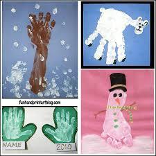 Handprint Winter Crafts For Kids