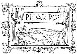 File Briar Rose title in Grimm s Household Tales Edwardes Bell