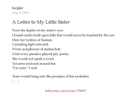 Best Ideas A Letter I Wrote to My Mom About My Little Sister